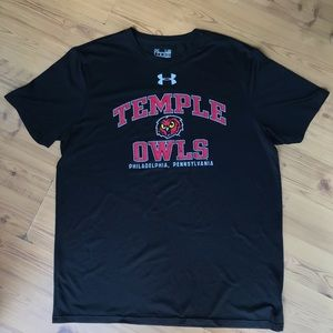 Under Armor Temple Owls T-Shirt
